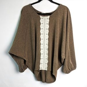 Easel Oversized Slouchy Sweater